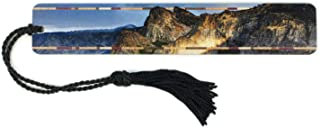 product image for Yosemite National Park Color Photograph by Mike DeCesare on Wooden Bookmark with Tassel - Also Available Personalized
