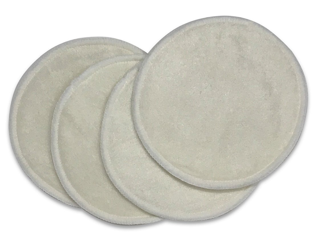 Bamboo Nursing Pads - Ultra Thin/Absorbent, Washable, Reusable, Leak Proof by Naked Nursing Tank Charlease Inc.