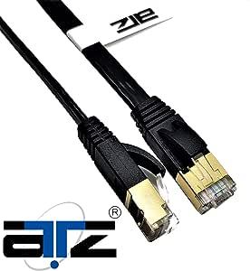 ATZ 20m Cat 7 STP FLAT Gigabit Ethernet Lan Network Patchcord Cable-20m