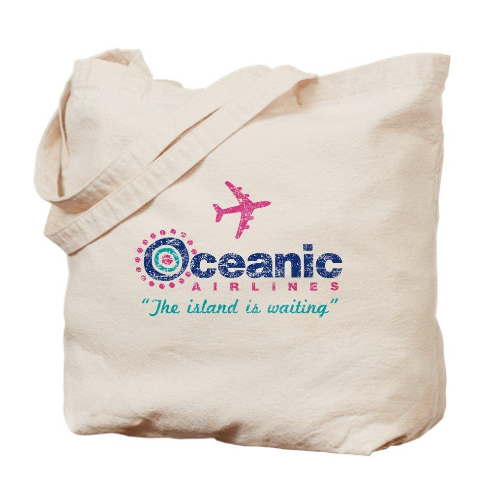 CafePress – Oceanic Airlines – ナチュラルキャンバストートバッグ、布ショッピングバッグ B06WRS6FX7