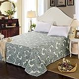 cotton sheets/Single printed fresh style sheets-Q 245x265cm(96x104inch)