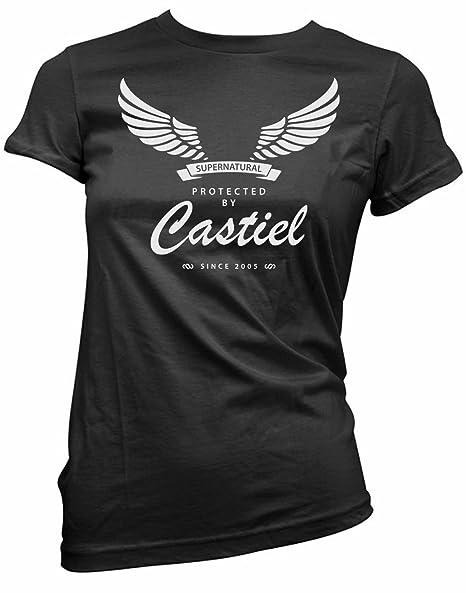 Amazon.com: Cerebro Tees de zumo protegidos por Castiel ...