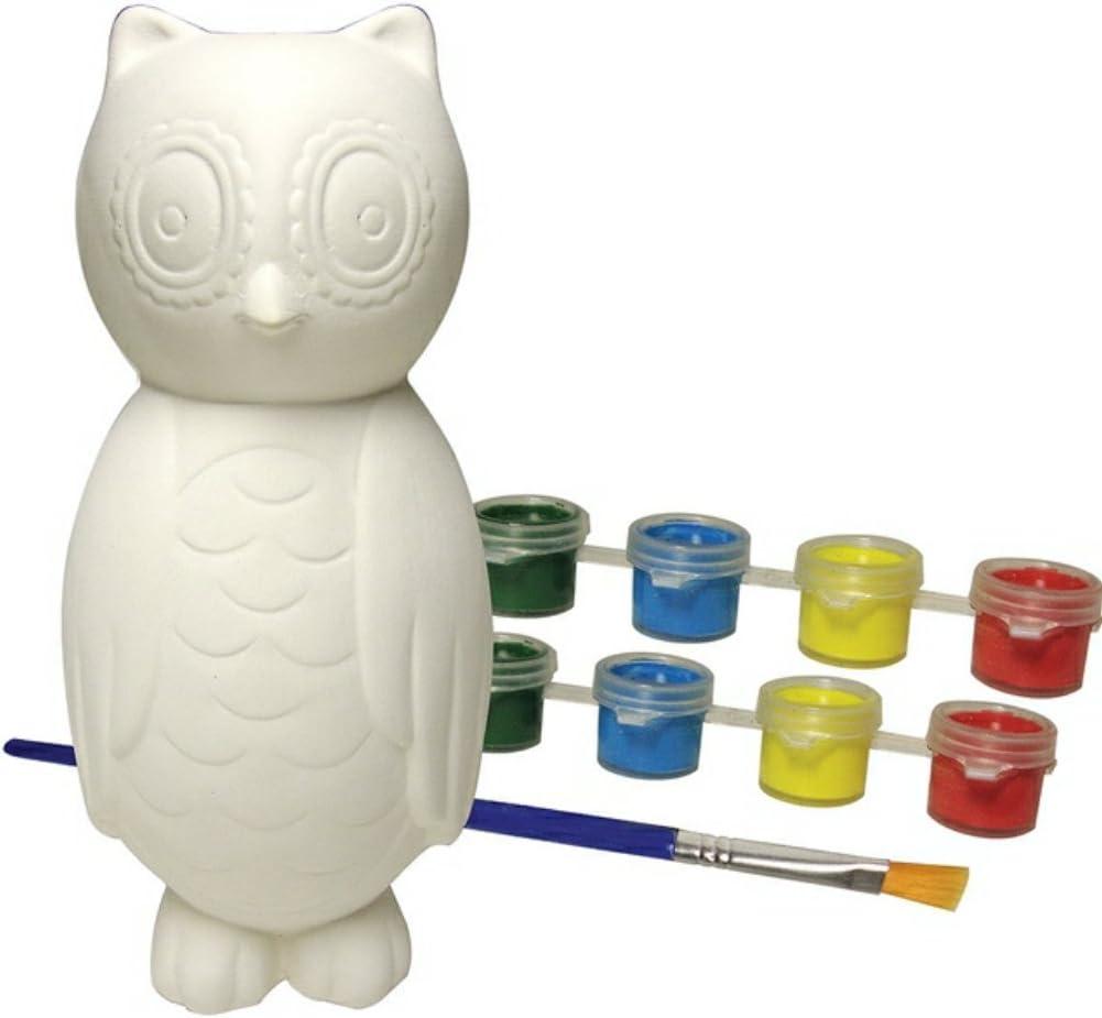 Owl Bowling Pin Set Game Sassafras Outdoor Fun