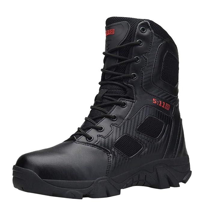 DENER❤ Men Fashion Winter Snow Boots, Waterproof Steel