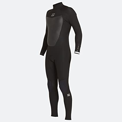 Amazon.com : Billabong Absolute Comp 4/3MM Back Zip Wetsuit ...