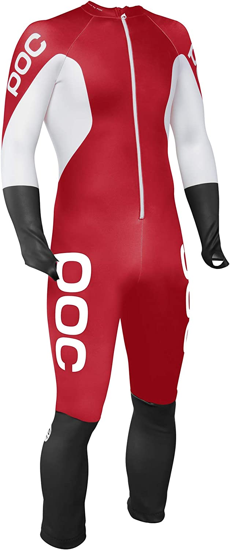 L Unisex ni/ños Bohrium Red//Hydrogen White POC Skin GS JR Mono Competici/ón