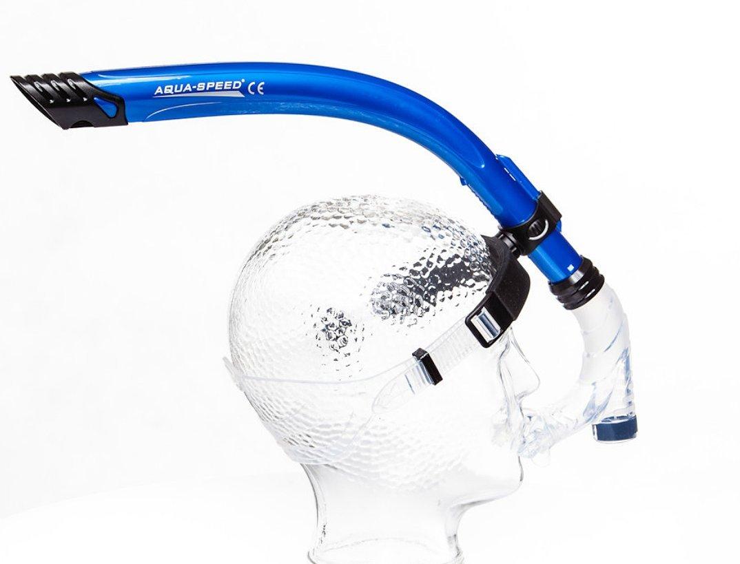 Aqua Speed Comet JR Nuoto Boccaglio Snorkelling Silicone Snorkel Frontale per Bambini//Adolescenti