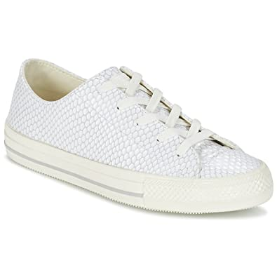 converse all star blanche basse femme