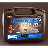 Layer Up Bones Miniatures Learn to Paint Kit Reaper Miniatures