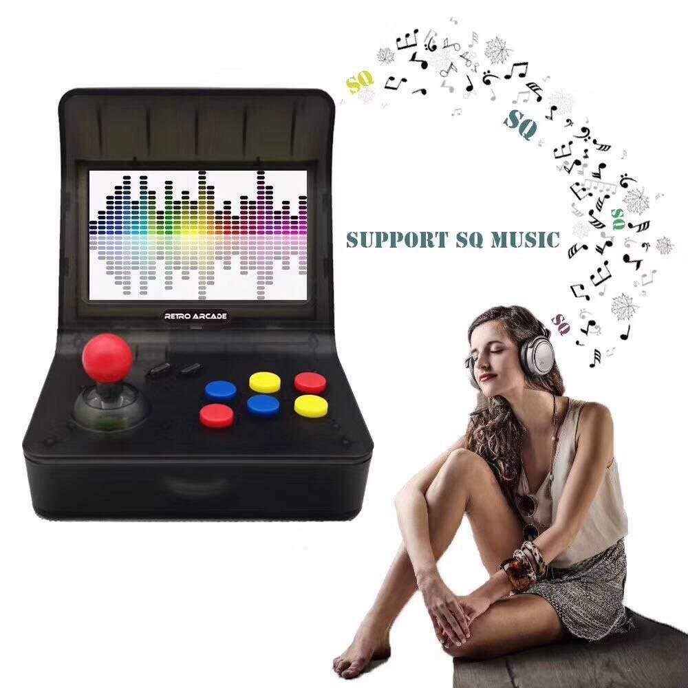 3000 Games Mini Desktop Arcade Machine Portable Retro Mini Arcade Cabinet