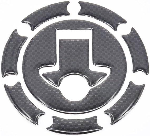 Tank Aufkleber Gas Cap Abdeckung Pad Fuel Universal 3d Real Carbon Fiber Für Ktm Duke Rc 125 200 390 Auto