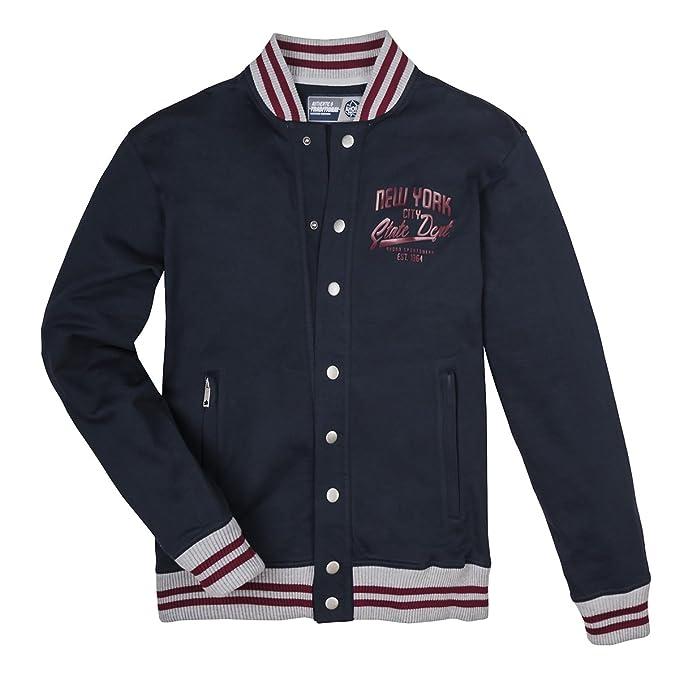 Ahorn Sportswear XXL Chaqueta universitaria Azul Marino, 2xl ...