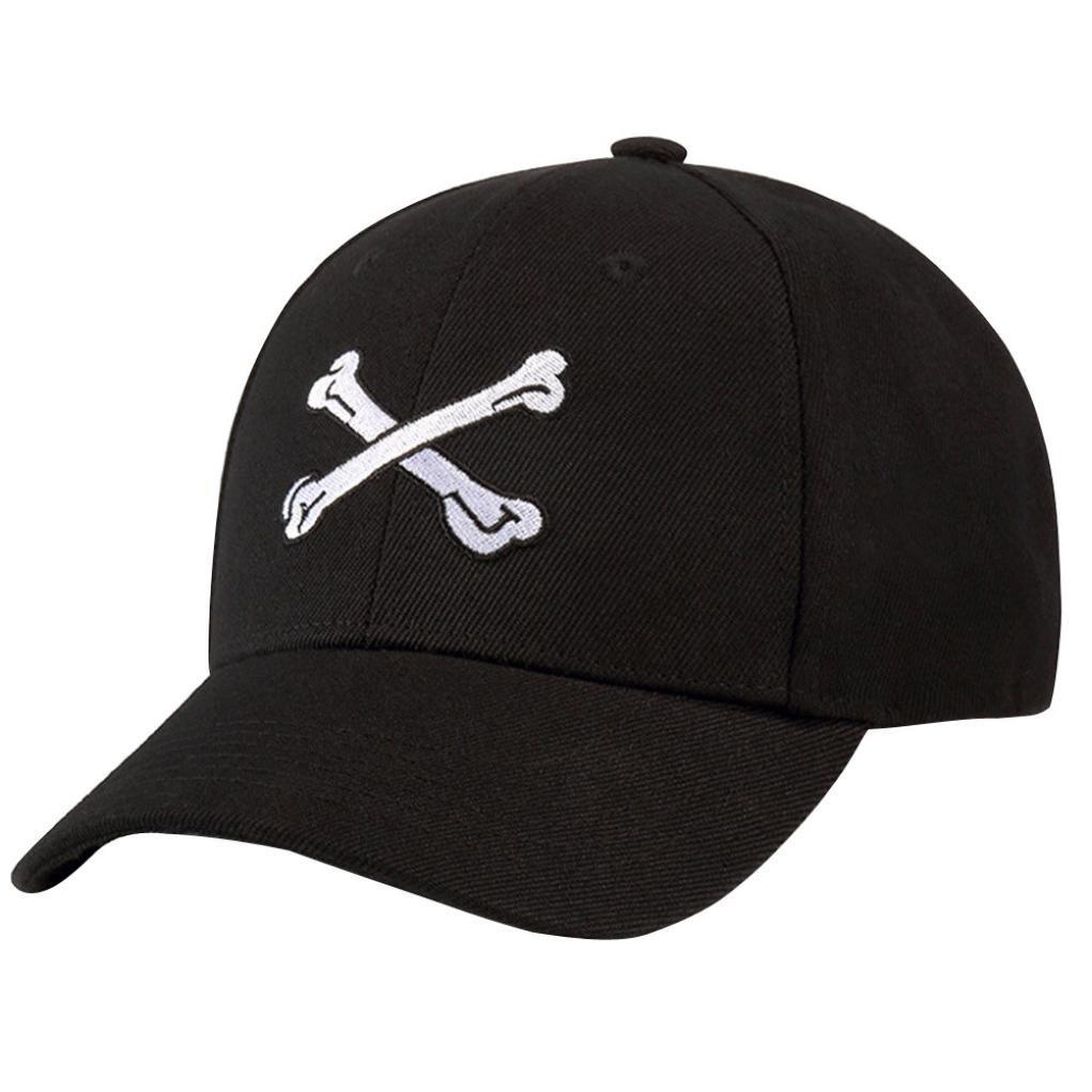GreatestPAK Caps Männer Frauen schwarz Baseball Cap Snapback Hut Hip ...