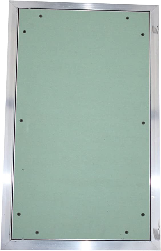 FF Systembau Revisionsklappe 63 x 63 x 1,25 cm mit GKBI Gips Hebelschlo/ß Innensechskant mit Sicherungsstift//pinned HEX aush/ängbar und abschlie/ßbar