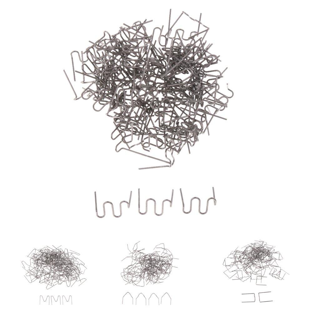 Sharplace Agrafe Dangle Int/érieure Pr/é D/écoup/ée 0.8mm R/éparation De Voiture 100pcs V Forme