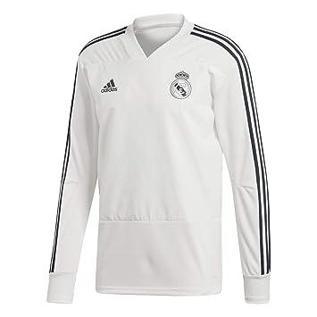 adidas Real Madrid Training Top Sudadera, Hombre: Amazon.es: Deportes y aire libre