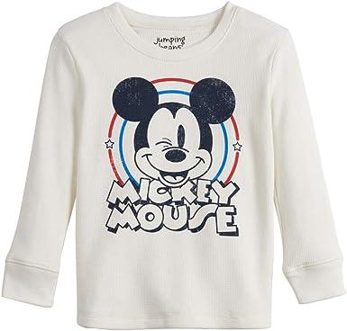 Mickey Mouse beb/é-ni/ños Camiseta de Manga Larga