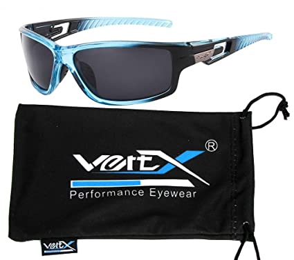 VertX masculine polarisés des lunettes de soleil Sport cyclisme en plein air – Cadre orange – lentille miroir xEQQwoVk