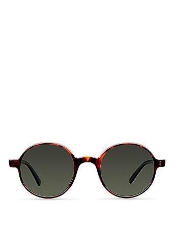 Meller Kribi Collection - Gafas de sol polarizadas unisex UV400 minimalista rodondo
