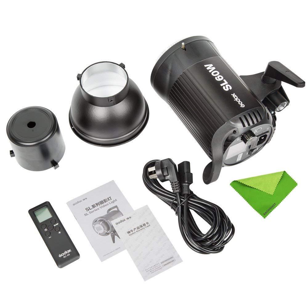 Godox SL60W SL-60W 5600K Daylight Studio Continuous LED Video Light Lamp w/Bowens Mount by Godox (Image #6)