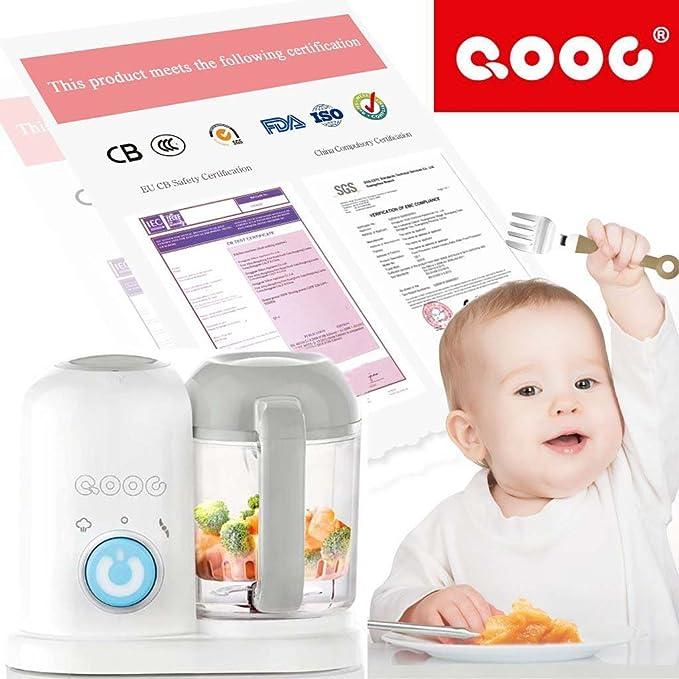 4-en-1 Mini Robots de cocina para bebés Utensilios de cocina: Amazon ...