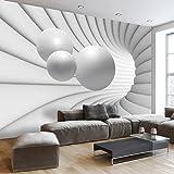 murando Papier peint intissé 350x245 - 3 couleurs au choix - Top vente - Papier peint - Tableaux muraux déco XXL - balle abstraction 3D a-A-0154-a-c
