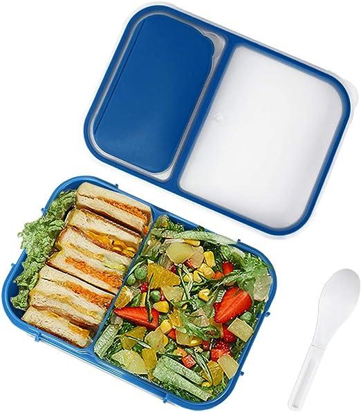 Fiambrera Niños,Lunch Box, Caja Almuerzo Niños con 2 ...