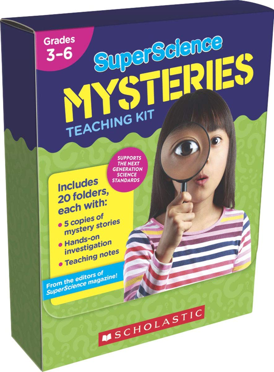 SuperScience Mysteries Kit: 20 Whodunits With Hands-On Investigations to Help Solve the Mysteries by Scholastic