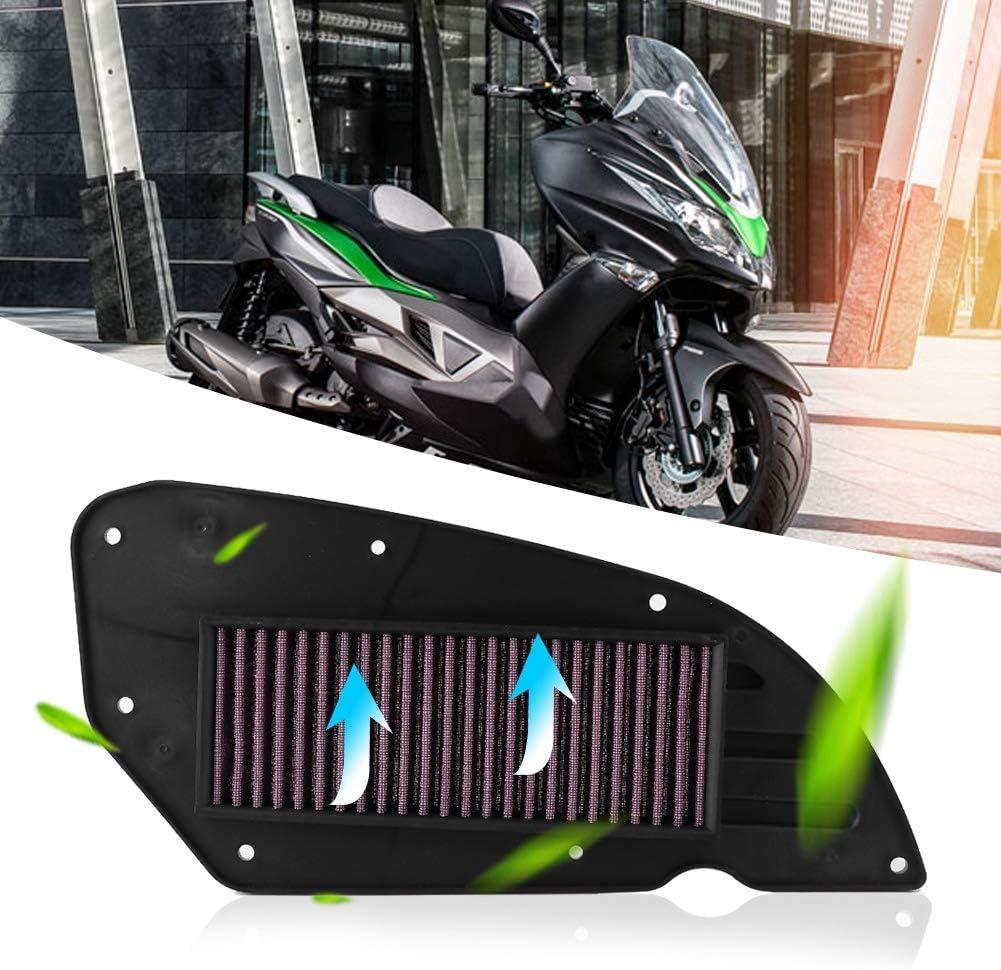 Motorradmotor-Ansaugreiniger Motorradluftfilter f/ür Kawasaki J300 Motorradluftfilter