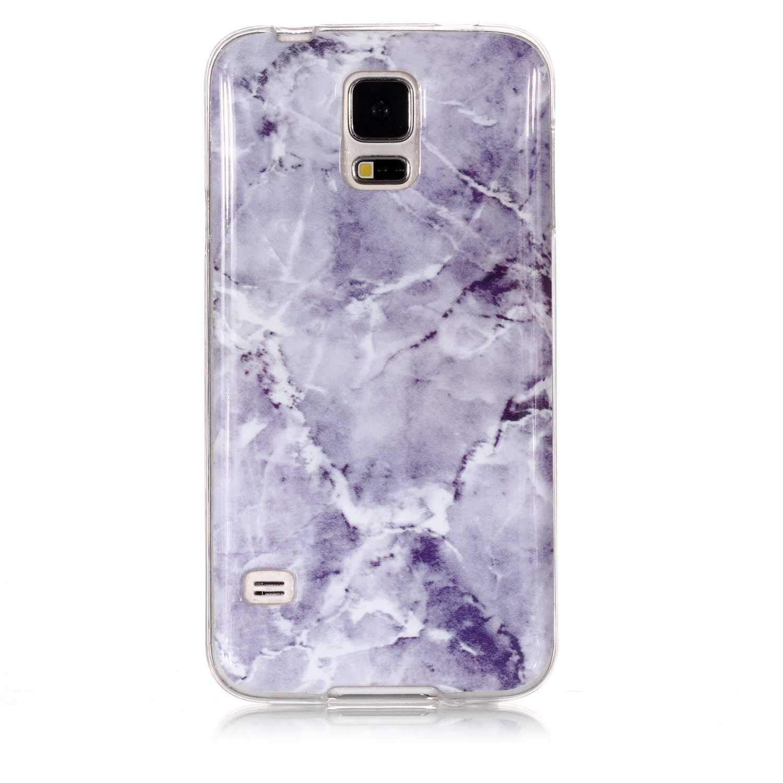 Galaxy S5 Case, UNEXTATI TPU Soft Silicone Printed