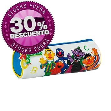 Estuche redondo School Barrio Sesamo: Amazon.es: Juguetes y ...