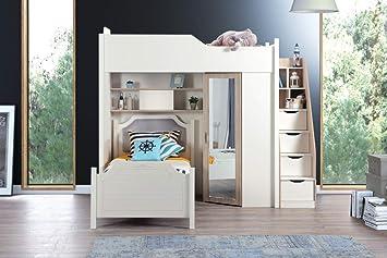 Kinderzimmer Etagenbett Set : Alfemo compact room etagenbett kinderzimmer matratze ohne