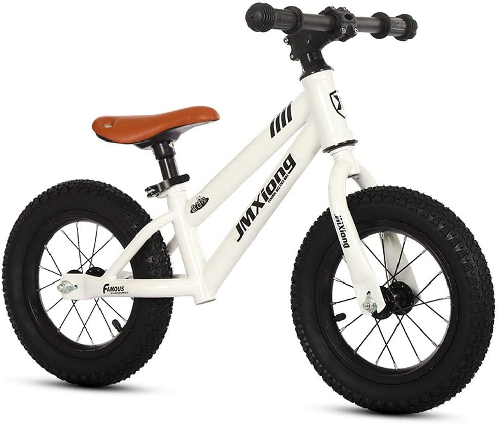 Color : Red LLF Kids Balance Bike for 2-6 Years Old Boys Girls Carbon Steel Frame No Pedal Walking Balance Bike Training Bicycle for Toddlers
