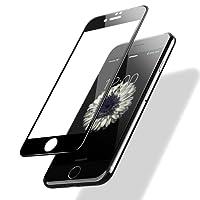 POSUGEAR Pellicola Protettiva iPhone 7/8, 3D Full Curva Copertura Completa 9H Durezza Scratch Resistente HD Tempered Vetro Pellicole protettive per Apple iPhone 7/8 - Nero