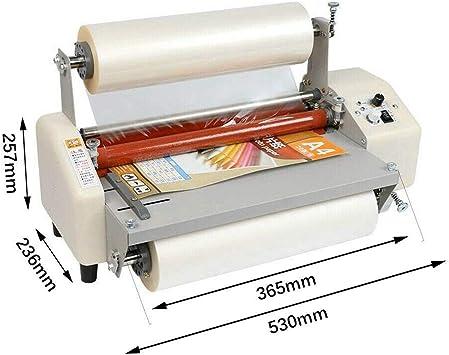 A3+ maschine laminator 220V Hot Roll Laminiermaschine 8350T 335mm