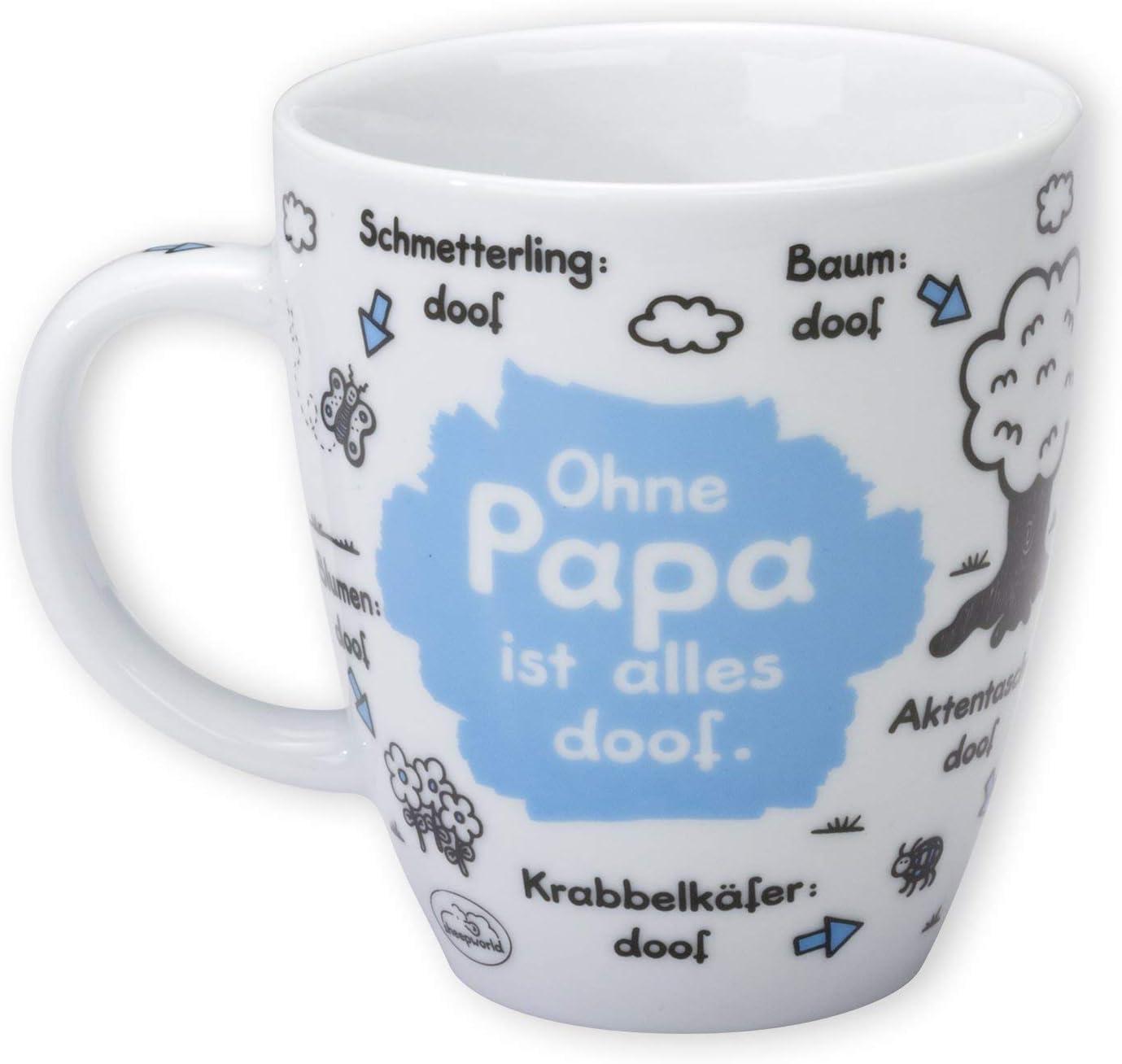 Sheepworld XL Tasse GIBT NUR EINEN BESTEN PAPA 0,6l Porzellan Geschenk 45761
