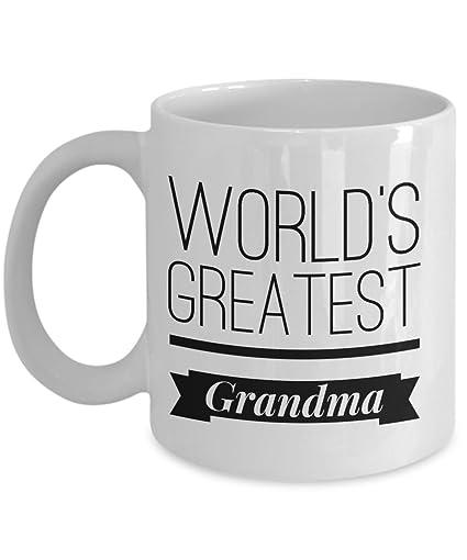 amazon com world s greatest grandma mug best grandma gift grandma