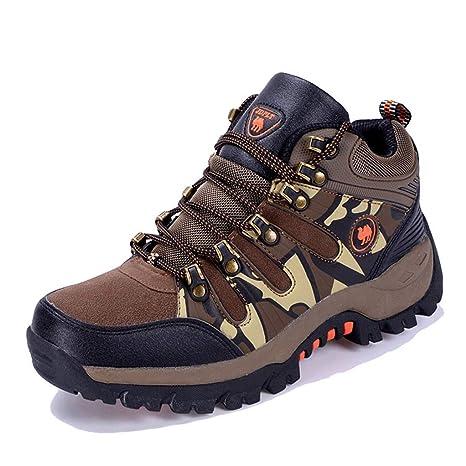 31d802534e4aa Amazon.com: Giles Jones Men Hiking Shoes Antiskid Wading Trekking ...