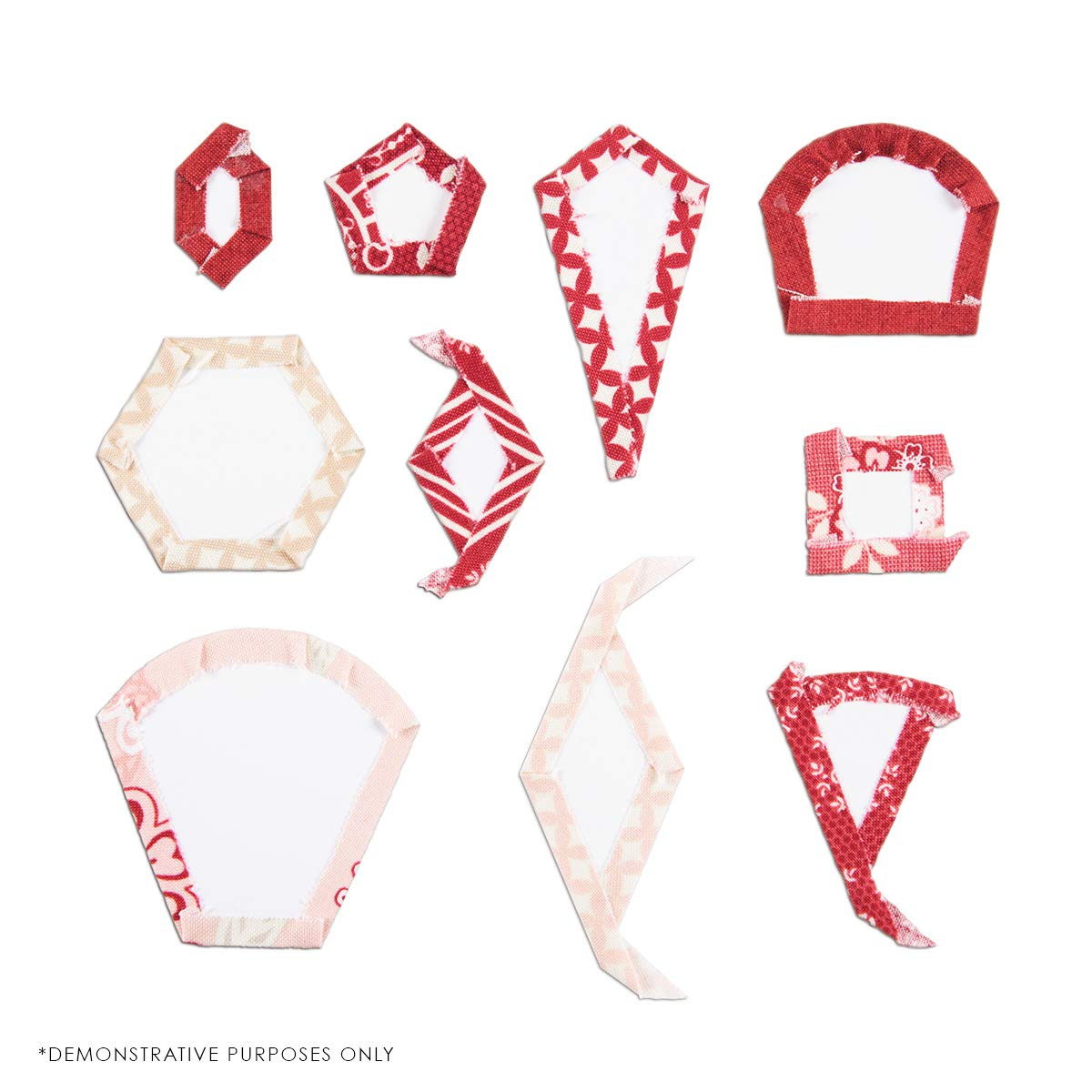 SUE DALEY DESIGNS Hexagon Papers Patchwork with Busyfingers HEX EPP English Paper Piecing 2 Packs 1 inch 200 Pieces Total