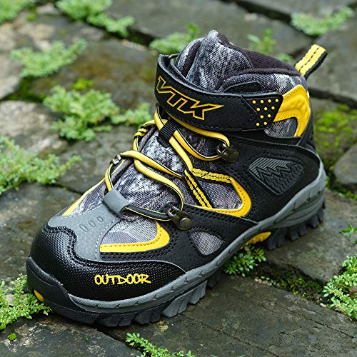 Pictures of Kid Hiking Boots Waterproof Thick Warm Snow 7