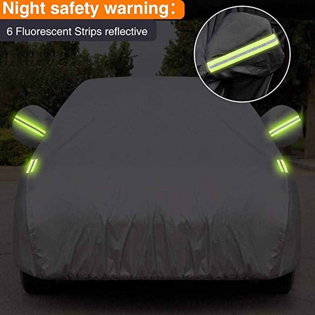 Couverture de Voiture Compatible avec BMW X3 Housse de Voiture Respirant Ext/érieure Isolation Solaire antipoussi/ère /étanche Pare-Soleil V/êtements de Voiture Color : Noir, Size : 2017BMW X3