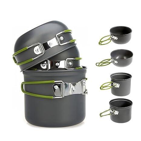 ccbd4cc8792 Amazon.com   Camping Cookware Kit