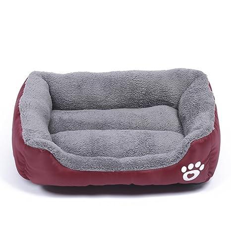 LA VIE Cama Cálida para Mascotas Sofá Cama Nido Suave y Acogedor para Gatos Perros Pet