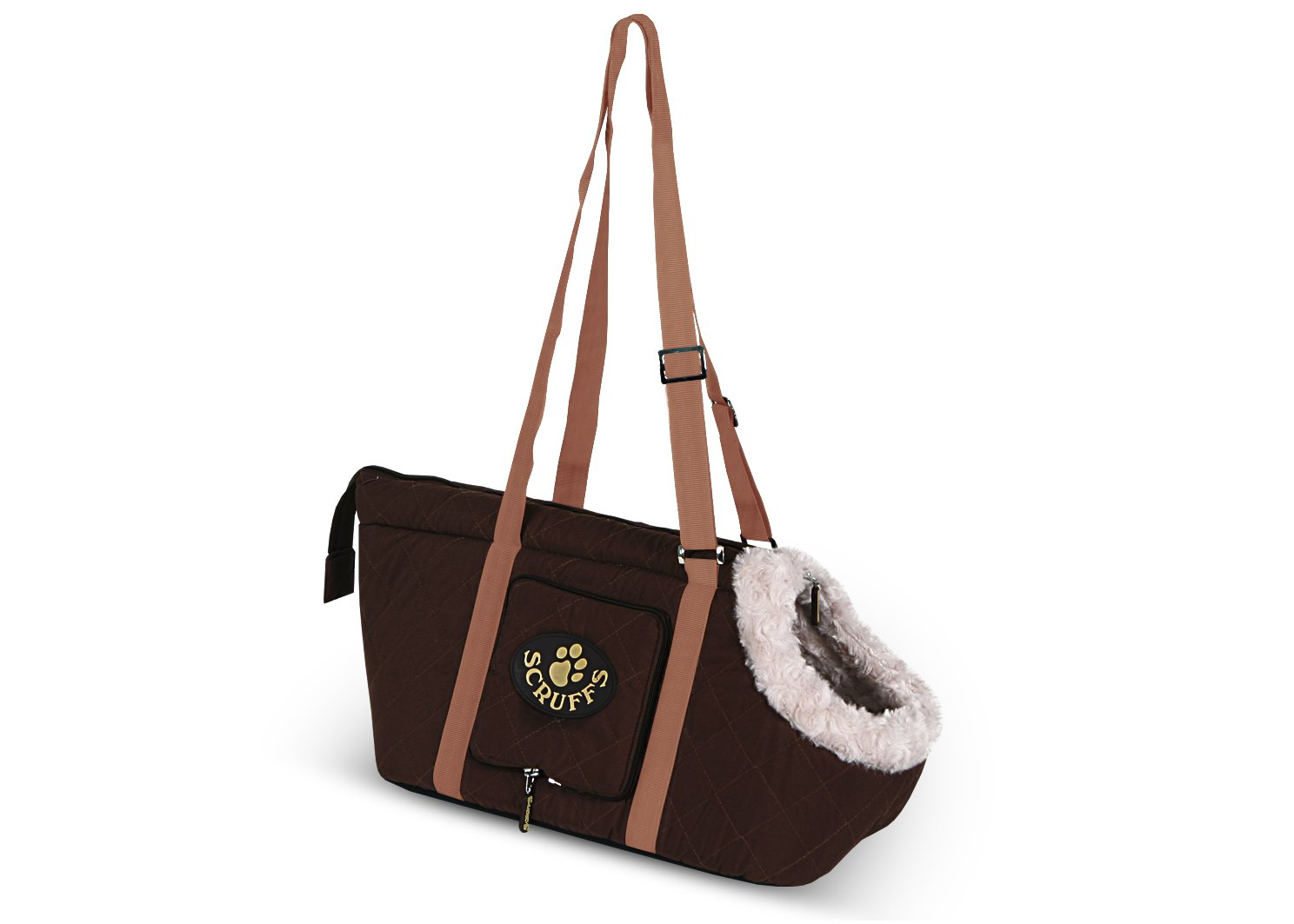 Brown Scruffs Wilton Pet Carrier, Brown