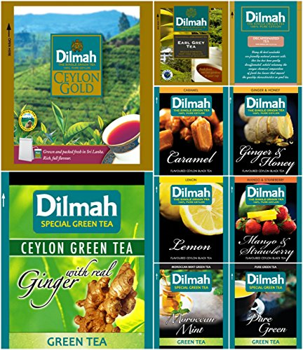 Dilmah Sampler Different Varieties Enveloped product image