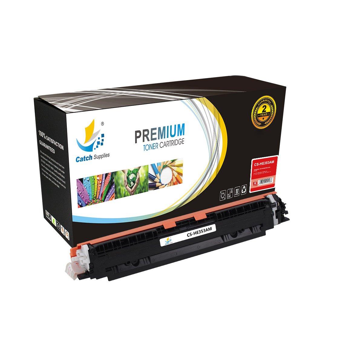 CatchSupplies reemplazo CF353A cartucho de tóner magenta para la serie HP 130A | 1.000 rendimiento | compatible con los modelos de impresora, HP color ...