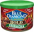 Blue Diamond Almonds Sriracha Flavored Snack Nuts, 6 Oz Resealable Can (Pack of 1)