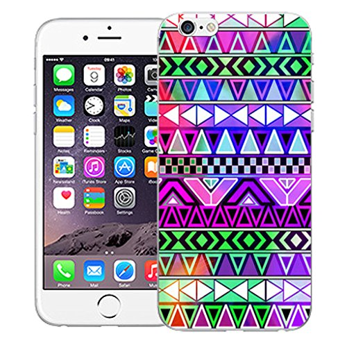 """Mobile Case Mate iPhone 6 Plus 5.5"""" Silicone Coque couverture case cover Pare-chocs + STYLET - Andes pattern (SILICON)"""