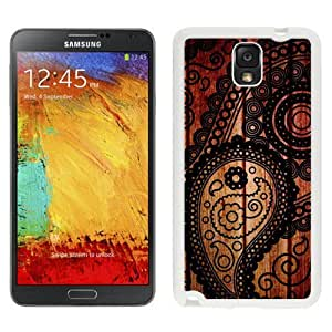 New Beautiful Custom Designed Cover Case For Samsung Galaxy Note 3 N900A N900V N900P N900T With Vintage Texture (2) Phone Case