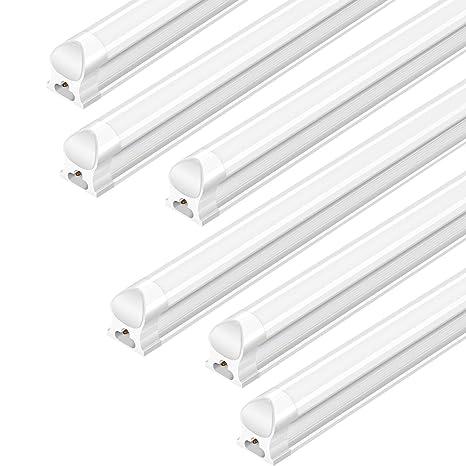 AntLux Linkable 4FT LED Shop Lights for Garage, 25W T8 Integrated ...